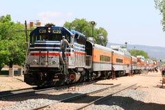 Ferrovia reale dell'itinerario della gola Fotografie Stock