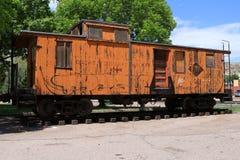Ferrovia reale dell'itinerario della gola Fotografia Stock Libera da Diritti