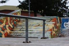 Ferrovia Sk8 Fotografia Stock Libera da Diritti