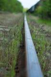 Ferrovia sola fotografia stock