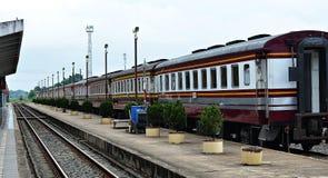 Ferrovia tailandese Immagine Stock Libera da Diritti