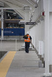 Ferrovia Technican Immagine Stock Libera da Diritti