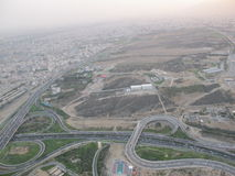 Ferrovia a Teheran immagine stock