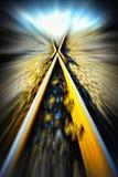 ferrovia x Fotografia Stock