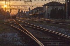 Ferrovias Foto de Stock