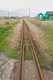 Ferrovias do calibre estreito Foto de Stock