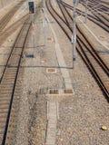 Ferrovie Fotografie Stock Libere da Diritti
