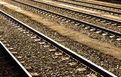 Ferrovie Fotografia Stock
