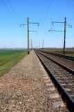 Ferrovie dell'Ucraina Immagini Stock Libere da Diritti