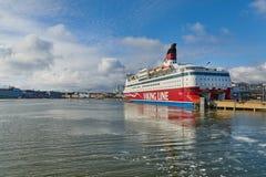 Ferry à Helsinki Photographie stock libre de droits