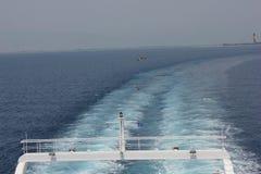 Ferry à Thassos Image stock