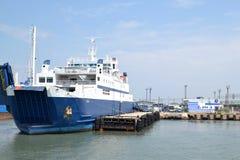 Ferry à travers le détroit de Kerch Image libre de droits