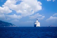 Ferry. Large passenger ferry near the coast of Croatia Royalty Free Stock Photography