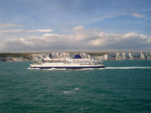 Ferry. Passenger ferry sailing in English Channel Royalty Free Stock Image