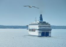 Ferry. Royalty Free Stock Photography