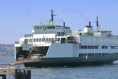 Ferry. Boat in Washington stock photography
