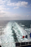 Ferry. French ferry on English Channel Royalty Free Stock Photos