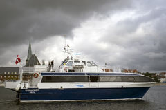Ferry from Aarhus Royalty Free Stock Photo
