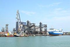 Ferry across the Kerch Strait.  stock photos
