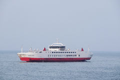 Ferry across the Kerch Strait Stock Photo