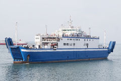 Ferry across the Kerch Strait Stock Image