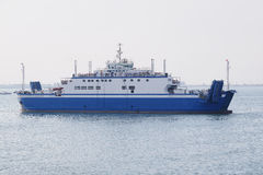 Ferry across the Kerch Strait Royalty Free Stock Photo