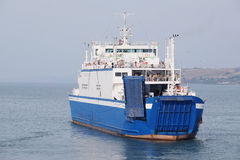 Ferry across the Kerch Strait Royalty Free Stock Photography