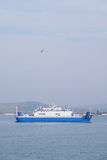 Ferry across the Kerch Strait Stock Images