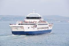 Ferry across the Kerch Strait Stock Image