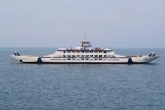 Ferry Across The Kerch Strait Royalty Free Stock Photos