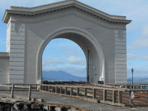 The Ferry Arch. At Pier 43 in San Francisco Royalty Free Stock Image