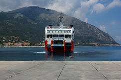 Ferry arriving. Stock Photography