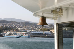Ferry bell Royalty Free Stock Images