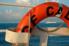 Ferry-board La manche, Calais Royalty Free Stock Photos