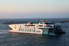 Ferry-boat à grande vitesse Image libre de droits