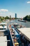 ferry-boat Photographie stock libre de droits