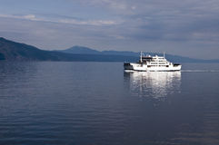 Ferry boat in Adriatic Sea Royalty Free Stock Photography