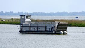 Ferry boat for animals Stock Images