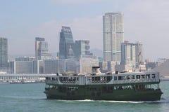 Ferry-boat antique d'étoile, Hong Kong Images libres de droits