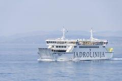 Ferry-boat Biokovo Photo stock