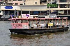 Ferry boat at Chao Phraya River Stock Photos