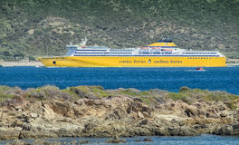 Ferry boat corsica ferries Royalty Free Stock Photography