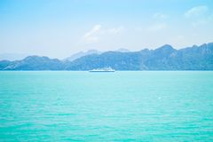 Ferry boat crossing Royalty Free Stock Photography