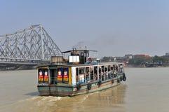 Ferry-boat dans Kolkata Image libre de droits