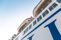 Ferry-boat dans Zadar Photo libre de droits