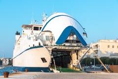 Ferry-boat dans Zadar Photographie stock libre de droits