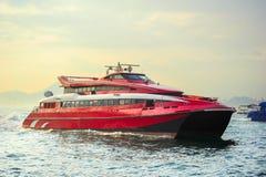 Ferry-boat de Hong Kong Macao images stock