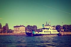 Ferry-boat de vintage Photographie stock