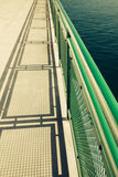 Ferry Boat Deck Royalty Free Stock Images