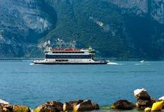 Ferry Boat - Garda Lake Italy Royalty Free Stock Photography